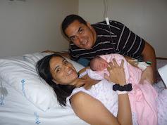 Meus filhos e minha neta