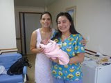 Minha Filha Bárbara, médica e Nicole