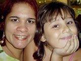 minha filha Amélia e a filha de minha cunhada Andréa