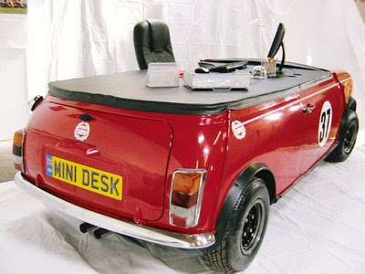 Mini Office Desks Are Hand Built And Tailor Made To Your Own Liking. Things  Which You Can Change Include The Top, Car Colour, Tires, Rims And Also The  ...