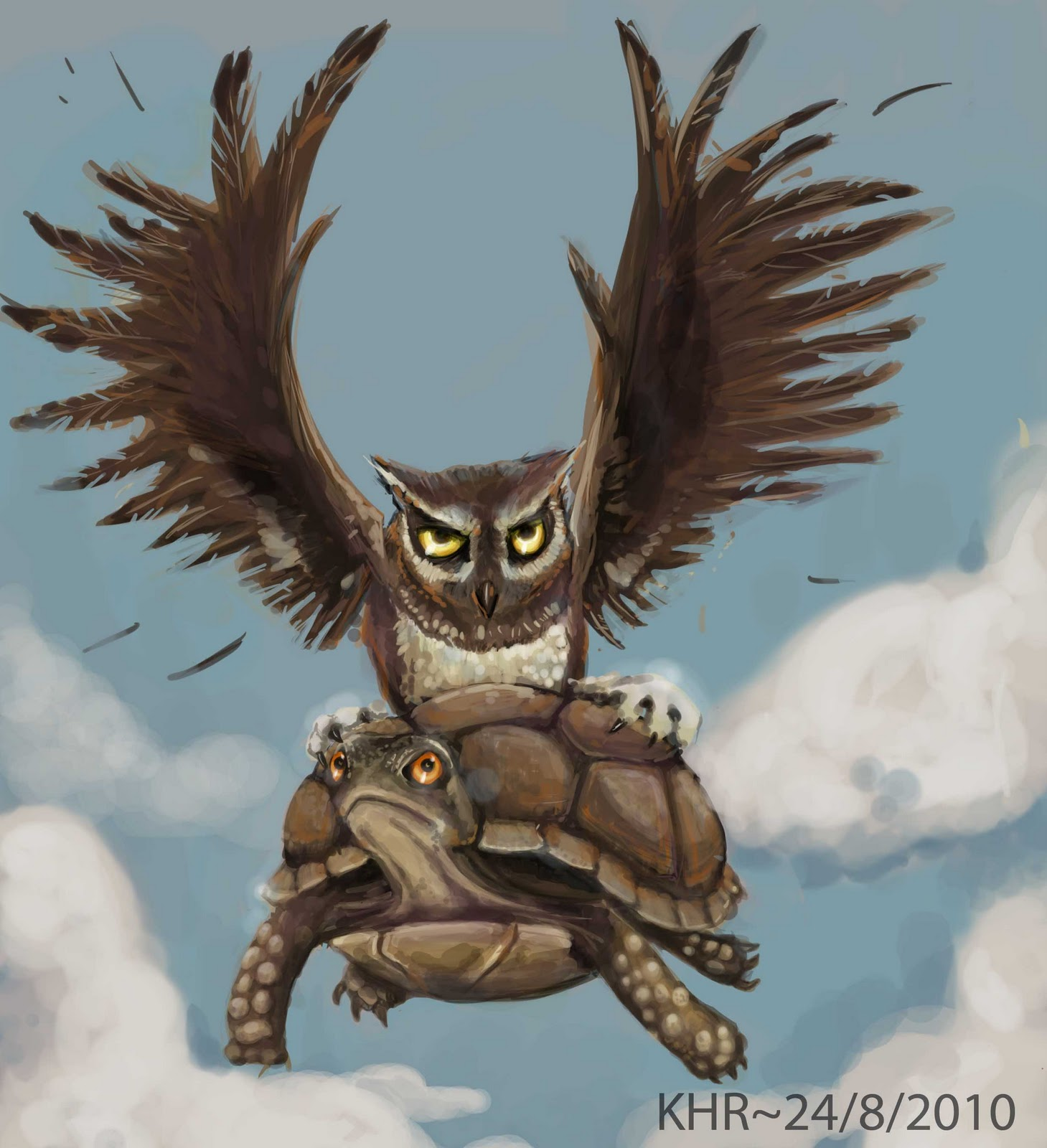 Inscripciones Temporada 8 Magestic+owl+and+fat+turtle1