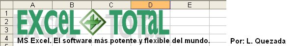 Excel Total