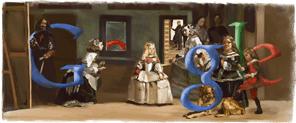 Diego Velázquez Google Logo