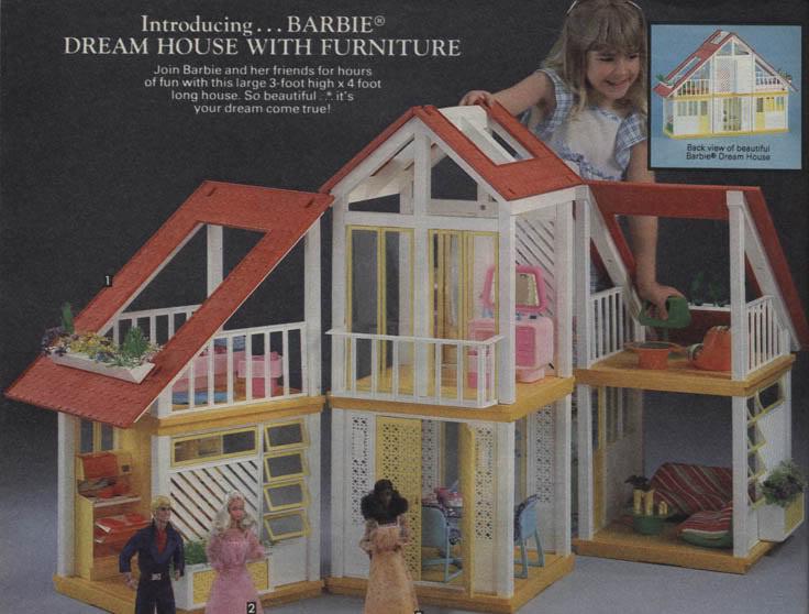 barbie dream house instructions 1978