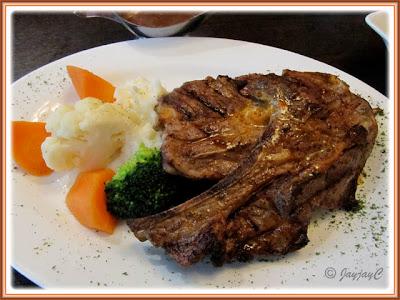 Grilled Tres Lamb Chop at Carlos Mexican Canteena, Pavilion KL
