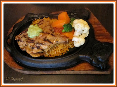 Lime Grilled Chicken at Carlos Mexican Canteena, Pavilion KL