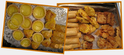 Baked pastries and fried dim sum