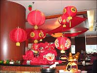 Chinese New Year 2009 decor at Checkers, Dorsett Regency Hotel KL