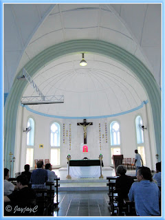 Inside the Church of the Sacred Heart (1908), Kampar in Perak