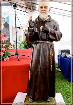 Statue of St Pio or Padre Pio as better known