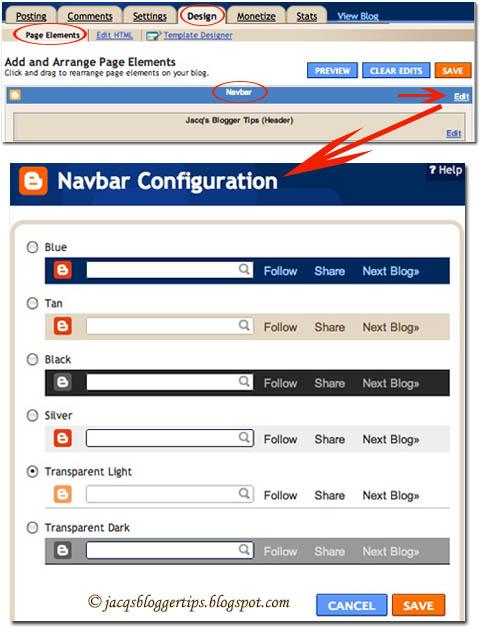 how to change reddit navbar color