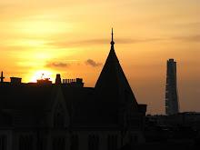 Solnedgång över Malmö