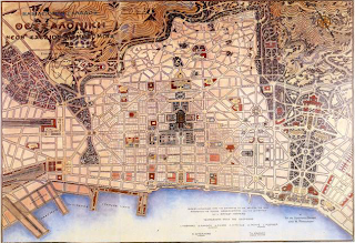 Urban Strategies : Gaming }: Thessaloniki, Ernest Hébrard, 1918