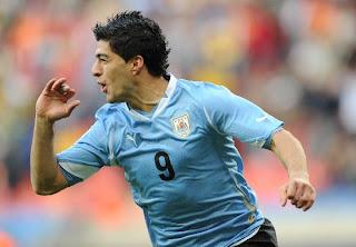 Suarez of Uruguay