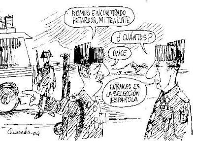humor gráfico de la selección española