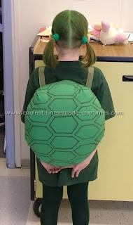 Disfraz casero de tortuga Ninja - Disfraz casero