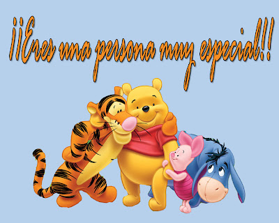 winie pooh con frases de amor