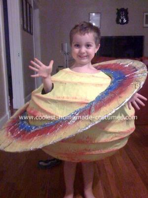 Planet jupiter costume