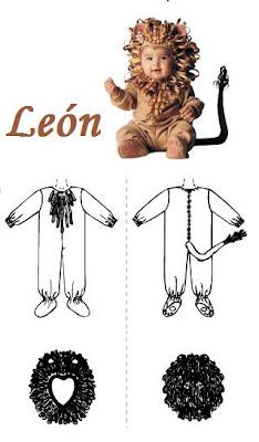 como hacer un disfraz casero de león