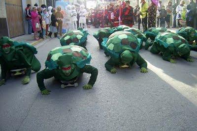 Ideas disfraces para escolares: de tortuga
