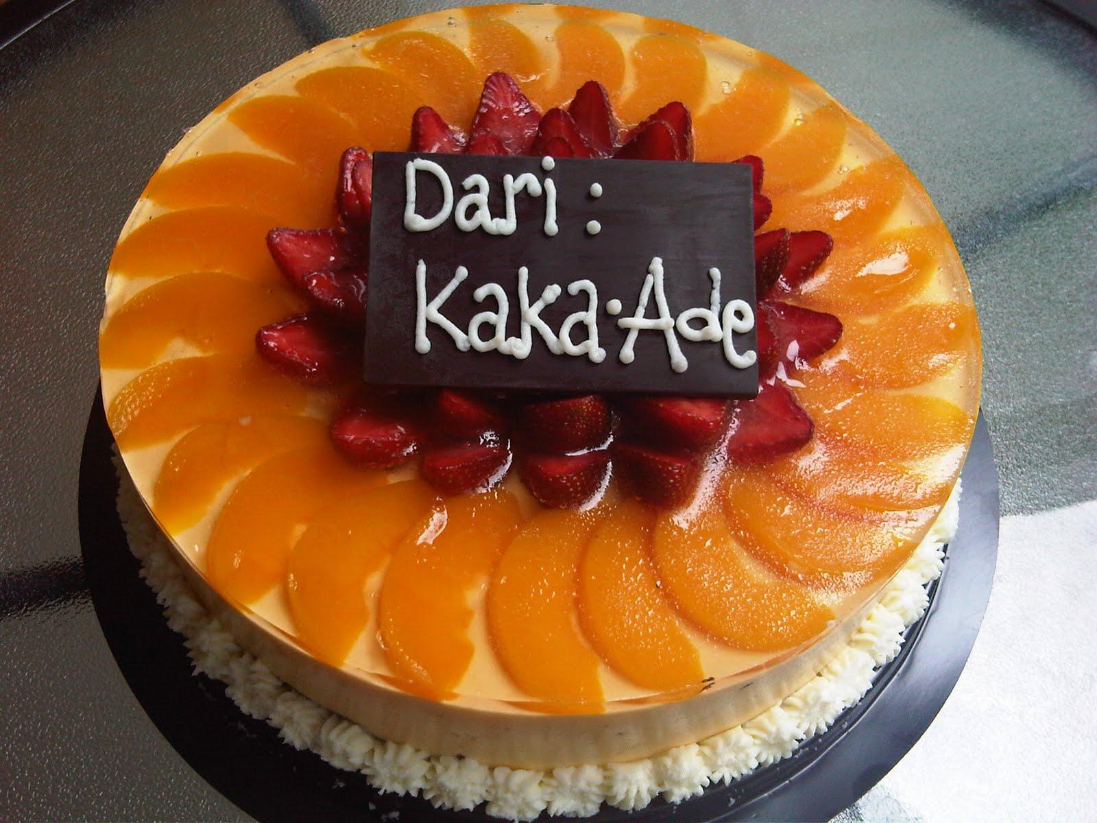 Orange Puding Cake
