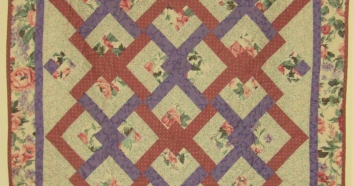 Quilting Pattern Lovers Knot : It s the cat s house, I just live here.: Lover s knot quilt, and why Eleanor Burns drove me crazy