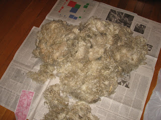 mohair fleece