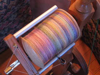 spinning bamboo wool