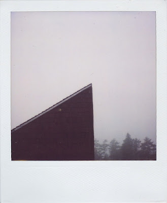 Erin Curry art- Haystack polaroid roofline