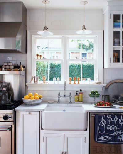 All White DREAM Kitchen....Elle Decor - Made By Girl