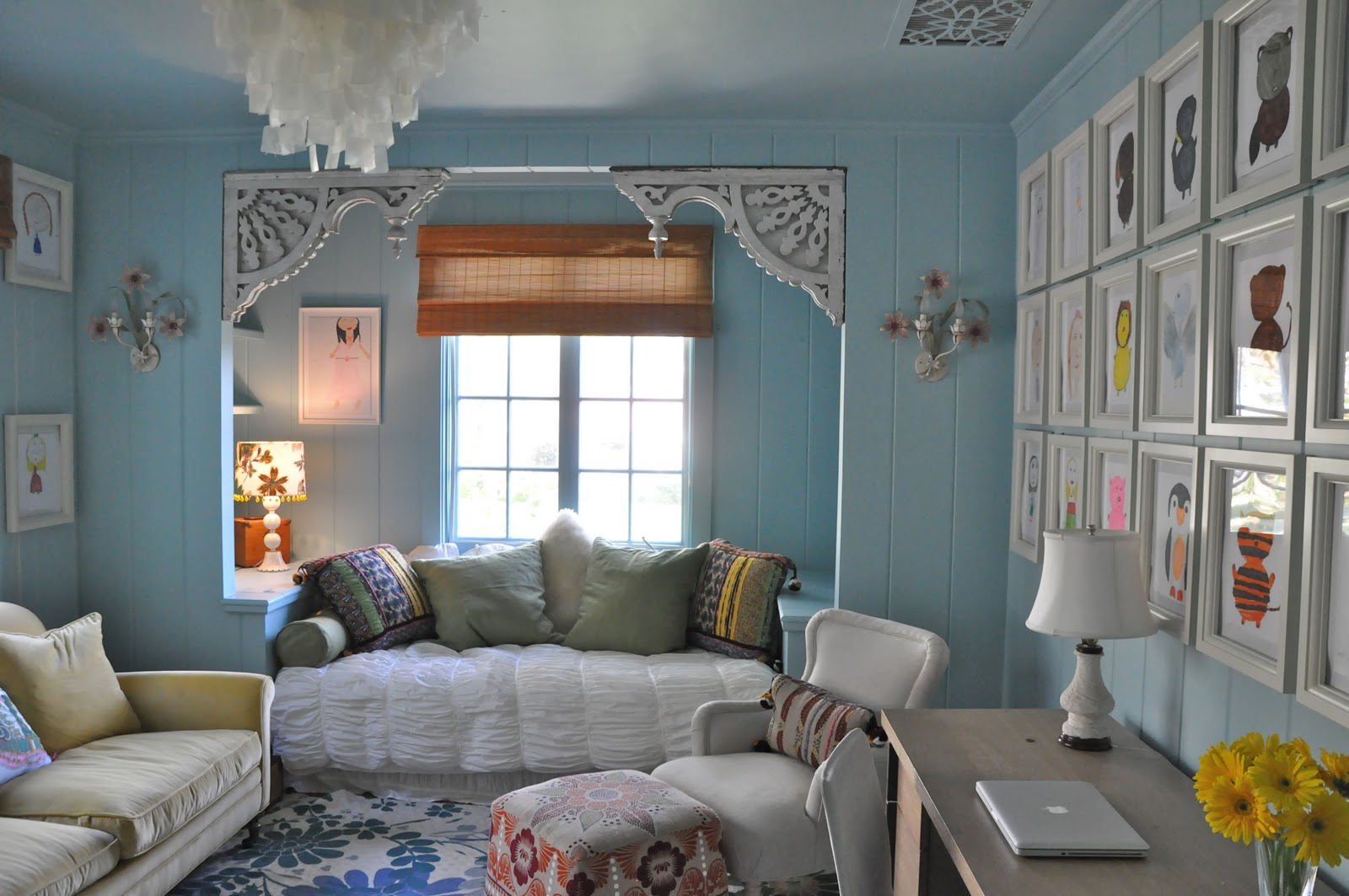 10 Year Old's Room by Giannetti Designs(Via Made by Girl) title=