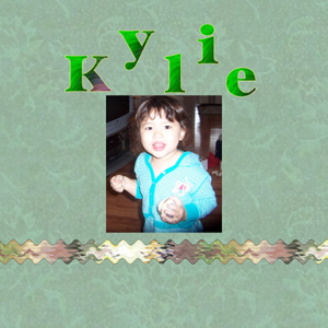 Granddaughters Kit Kylie