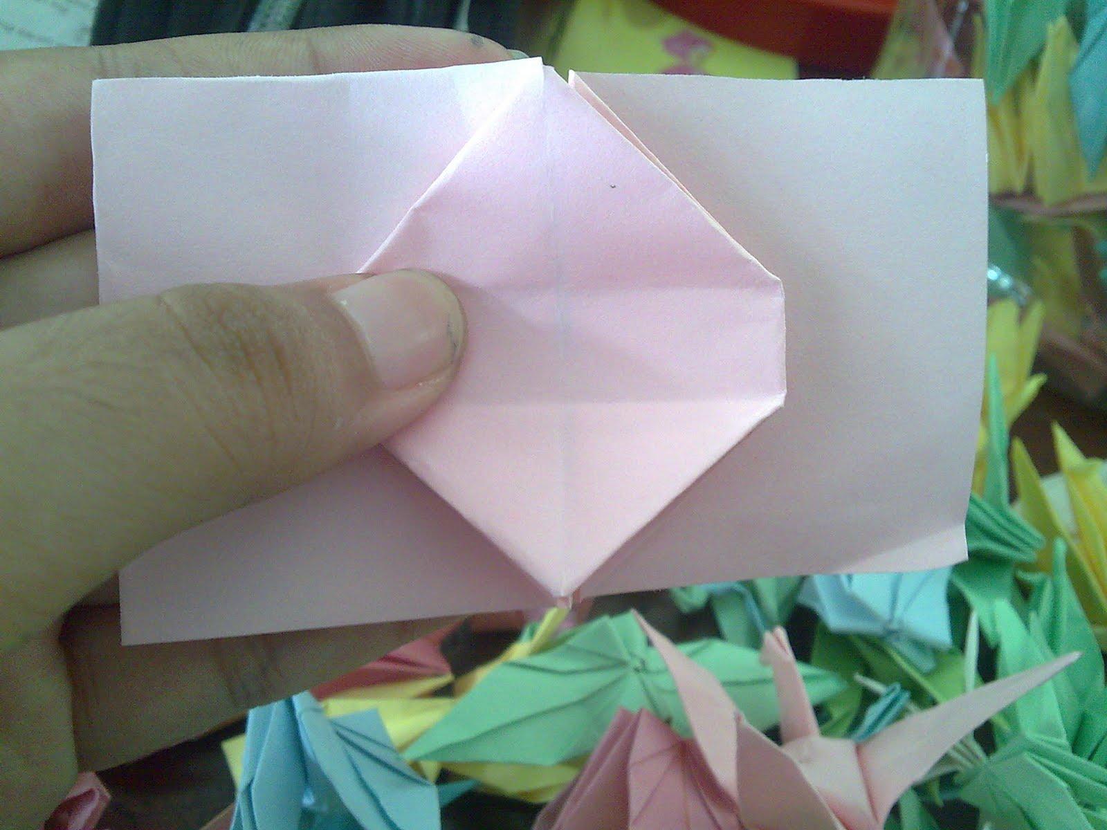 Origami Bentuk Hati