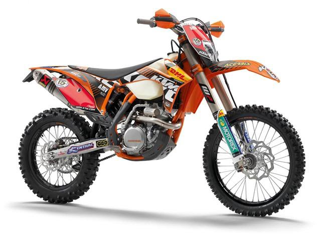 KTM 350 EXC-F FACTORY RACE BIKE. KTM also utilised the EICMA show in Milan,