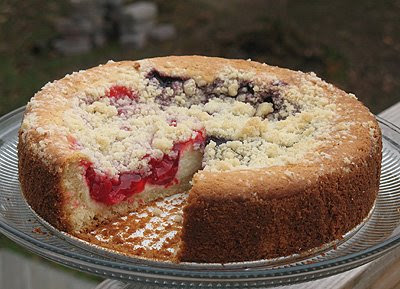 Cherry Cream Cheese Coffee Cake - Amanda's Cookin'