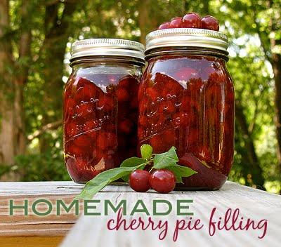 Homemade Cherry Pie Filling - Amanda's Cookin'