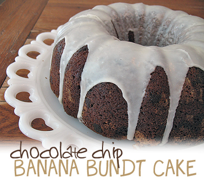 Chocolate-Banana Bundt Cake Recipe — Dishmaps