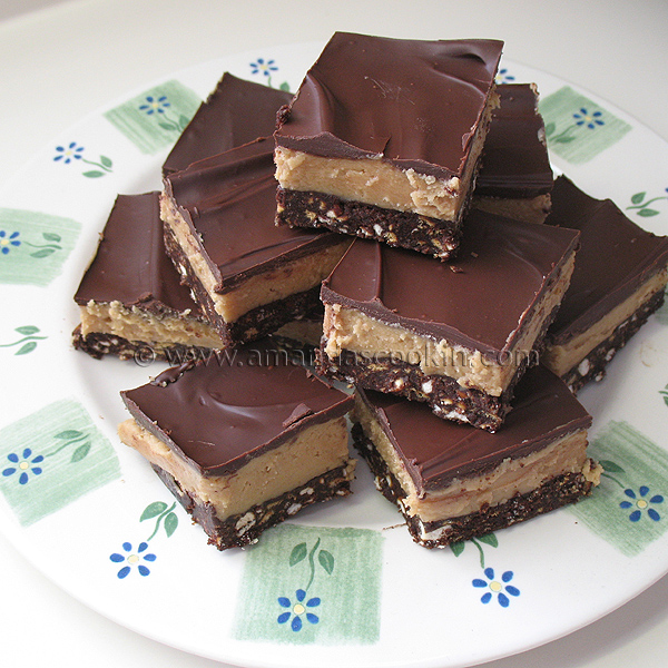 Chocolate Topped Peanut Butter Bars