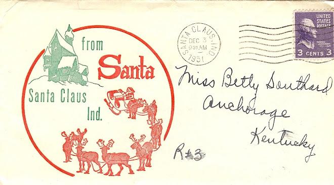 1951 Letter from Santa