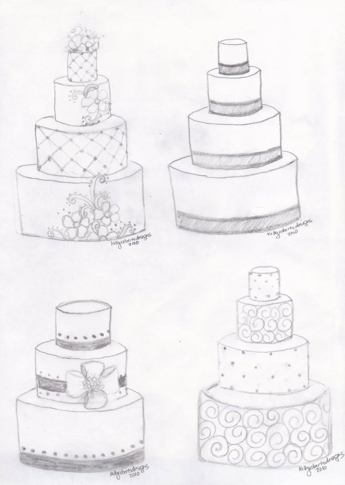 Kelly Roberts Designs: Wedding or Celebration Cake Design ...