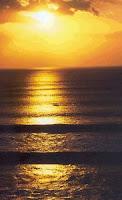 Solnedgang på Bali