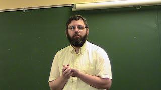 Rabbi Aryeh Klapper speaking