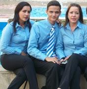 Magaly, Sebas y Lida