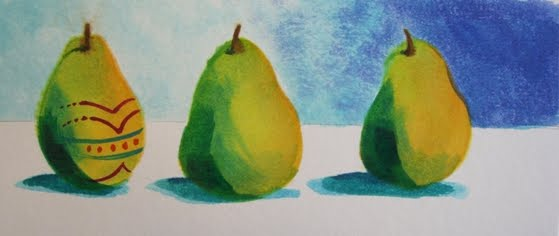 Easter Pear Step 6