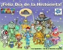 ¡4 de septiembre, Día de la Historieta!