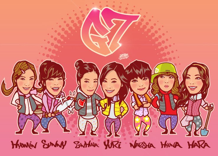 News Result from gee girl generation cartoon