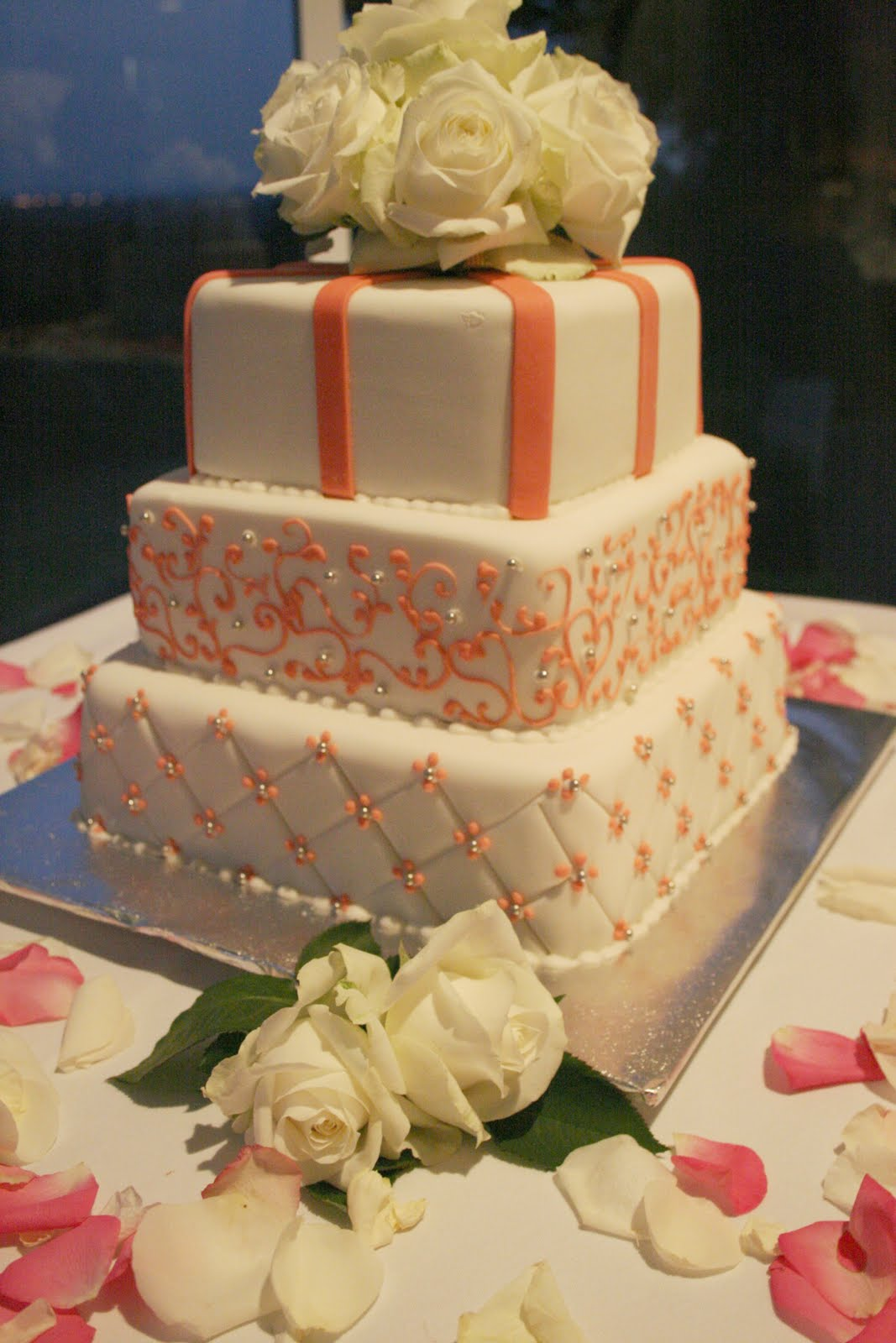 Coral Wedding Cakes Reception Project Wedding Forums