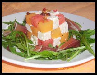 Squisitoo melon jambon the revival s lection de vos recettes les plus originales - Melon jambon cru presentation ...
