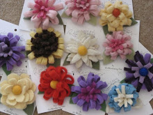 Reincarnations Felted Flowers
