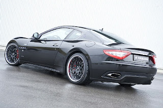 Hamann 21-inch wheels for Maserati GranTurismo